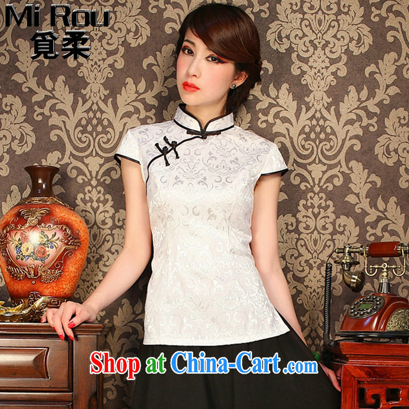 Find Sophie summer retro Korea female youth improved Chinese Chinese T-shirt Chinese, for a tight outfit T-shirt such as the color 2 XL