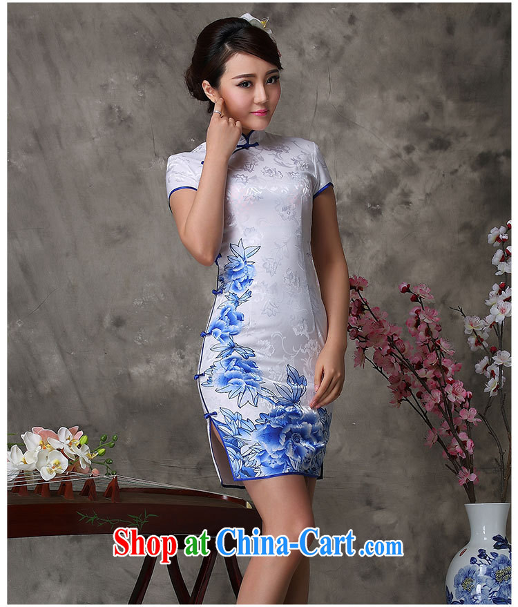 Goods Manufacturers summer new antique Chinese antique dresses daily short improved stylish dresses white XXL pictures, price, brand platters! Elections are good character, the national distribution, so why buy now enjoy more preferential! Health