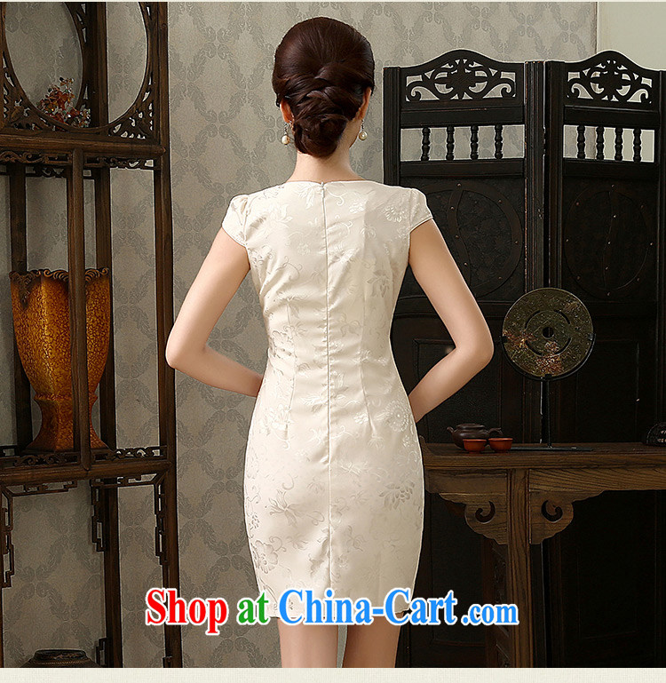 The acajou (summer 2015 new stylish and refined beauty style short cheongsam embroidered 1587 pink XXL pictures, price, brand platters! Elections are good character, the national distribution, so why buy now enjoy more preferential! Health