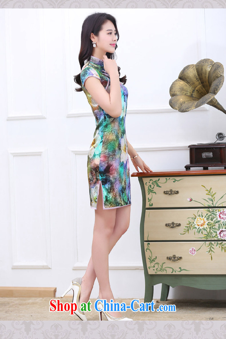 Mrs M, summer 2015 new stylish silk, stamp duty paid goods saffron XXL pictures, price, brand platters! Elections are good character, the national distribution, so why buy now enjoy more preferential! Health