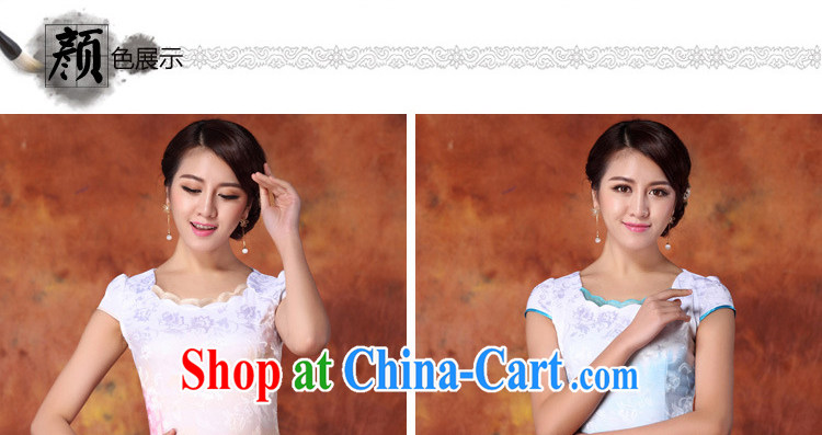 Yun-hsuan, summer 2015 women's clothing new Ethnic Wind Chinese stamp graphics thin short-sleeved package and cheongsam dress red XXL pictures, price, brand platters! Elections are good character, the national distribution, so why buy now enjoy more preferential! Health