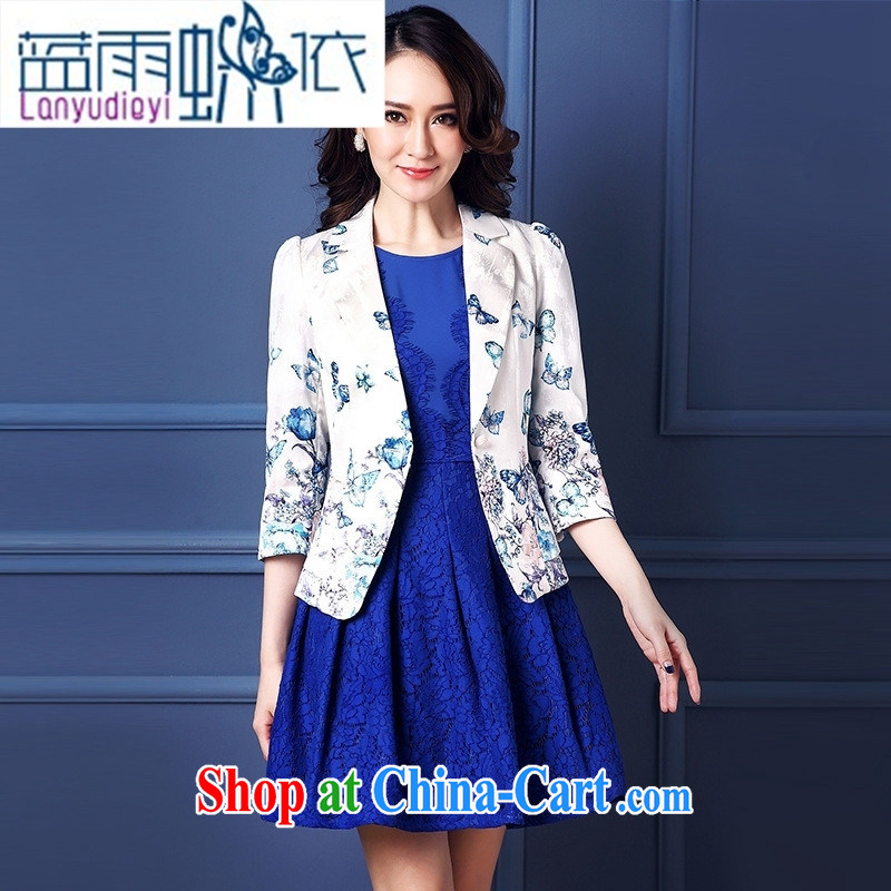 Ya-ting store women 2015 spring new women jacket stamp duty career commuter, casual suits beige XXL