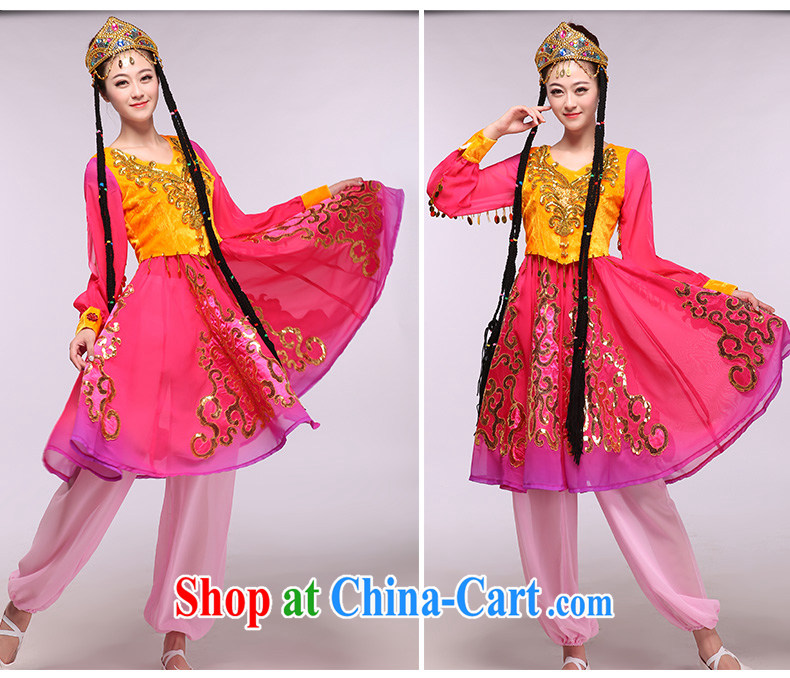 Economy red Xinjiang 2015 as soon as possible new Xinjiang dance as well as ethnic characteristics costumes show package of red XXXL pictures, price, brand platters! Elections are good character, the national distribution, so why buy now enjoy more preferential! Health