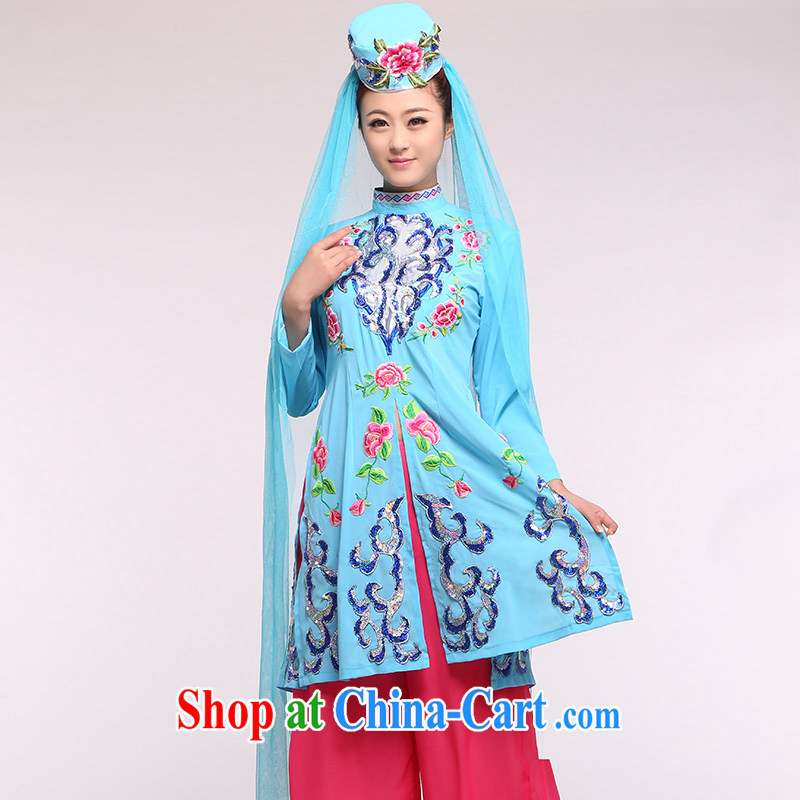 Hui folk costumes Hui Fashion Show clothing minority show clothing women's clothing such as the large number