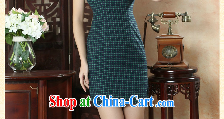 Take the female cheongsam Chinese summer, new Chinese improved, for a tight wind of fine, short-sleeved short dresses such as the color 2 XL pictures, price, brand platters! Elections are good character, the national distribution, so why buy now enjoy more preferential! Health