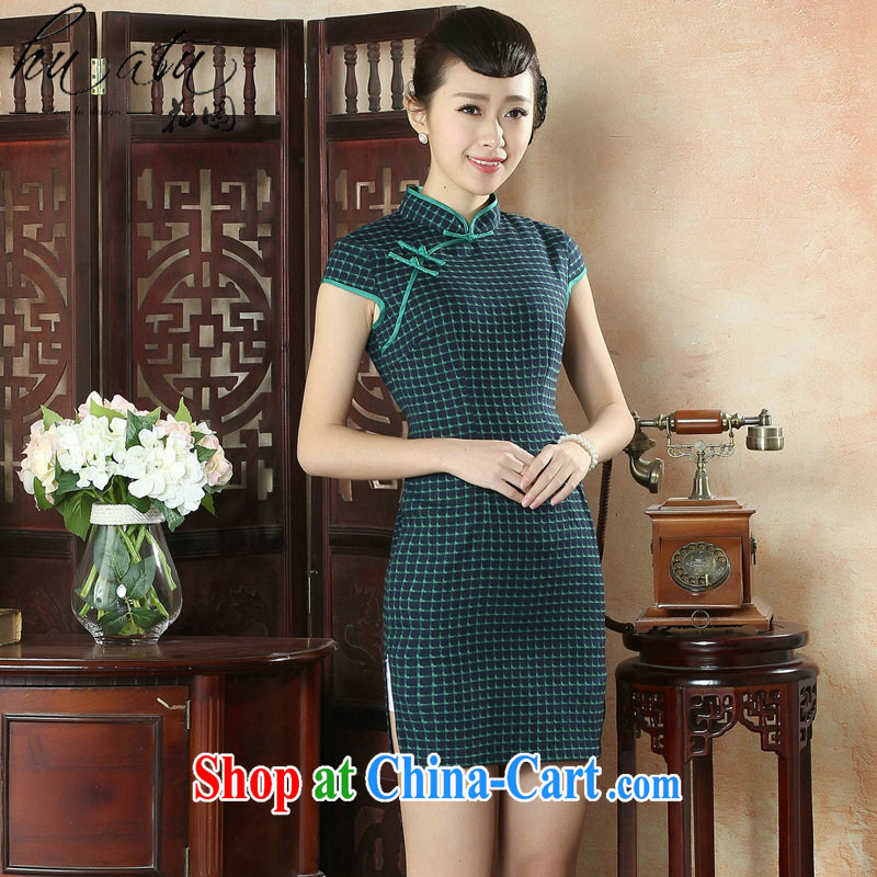 Take the female cheongsam Chinese summer new Chinese improved, for the hard-pressed Korea is fine, short-sleeved short dresses such as the color 2 XL, figure, and, on-line shopping