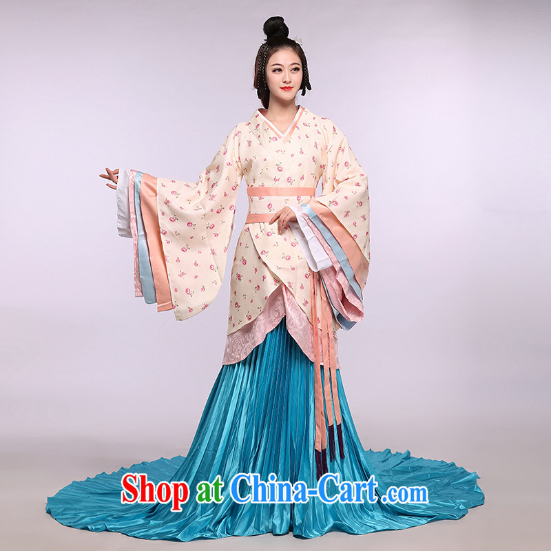 Costumes costumes costumes Han-Han Dynasty Women costumes Princess Photo Album free courtyard as shown are code