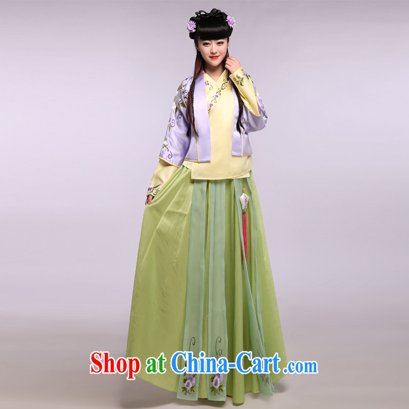 Costumed clothing, clothing women's clothing, Kim Ok-happily married TANG mentioned costumed Jade Kirin Ming Han-skirt шеж figure are code
