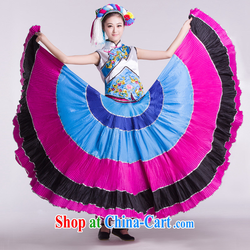 New paragraph Yi Ms. large skirt dance Clothing specialty dancers stage costumes such as the L