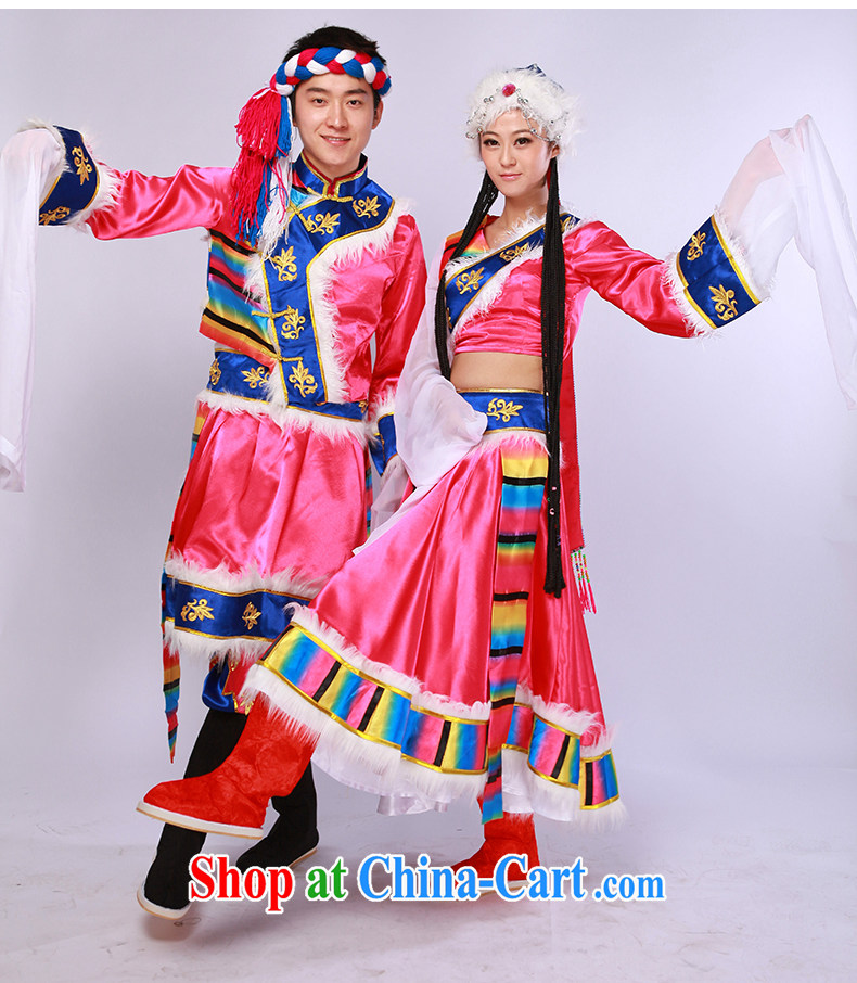 Tibetan dance clothing ethnic costumes female costume Tibetan dance serving the red S pictures, price, brand platters! Elections are good character, the national distribution, so why buy now enjoy more preferential! Health