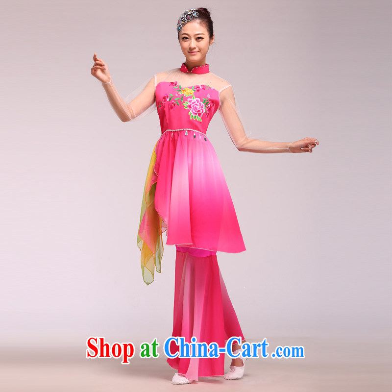 New, classical dance Fashion Show clothing stage with opening dance dancers dance glamour pink L