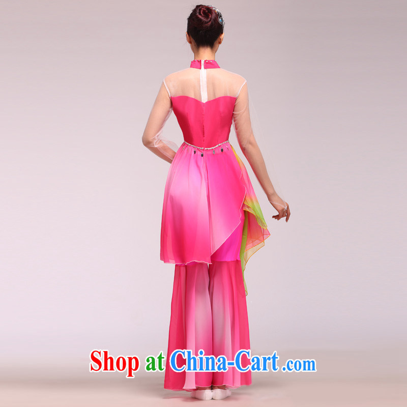 New, classical dance Fashion Show clothing stage the opening dance dancers dance glamour pink L, since in that shopping on the Internet