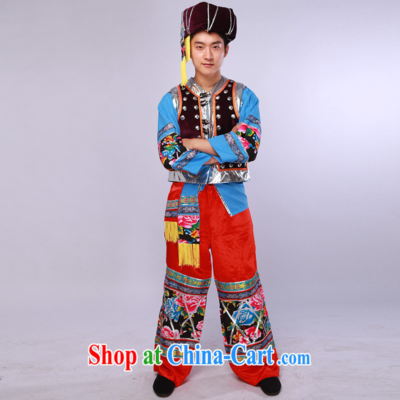 New minority clothing Miao Zhuang and family dance clothing stage performances of service, such as the colors L