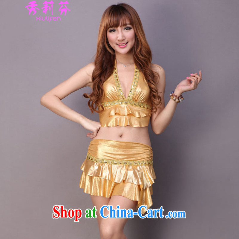 Hsiu-li-fen 2015 new female night female Sauna foot care bath hotel temptation sense of fun stage load JM - E 082 - 581 yellow are code