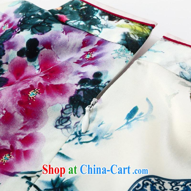 Joe is still a high-yuan Silk Cheongsam dress summer improved Chinese Chinese 013 ZS XXL suit, CHOSHAN LADIES, shopping on the Internet
