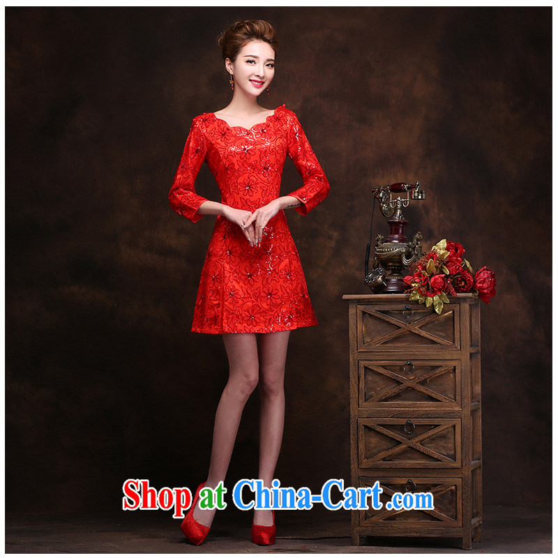The beautiful yarn red-waist dresses new on-chip lace stylish improved cultivating simplicity daily short skirts dresses video thin toast the service code.