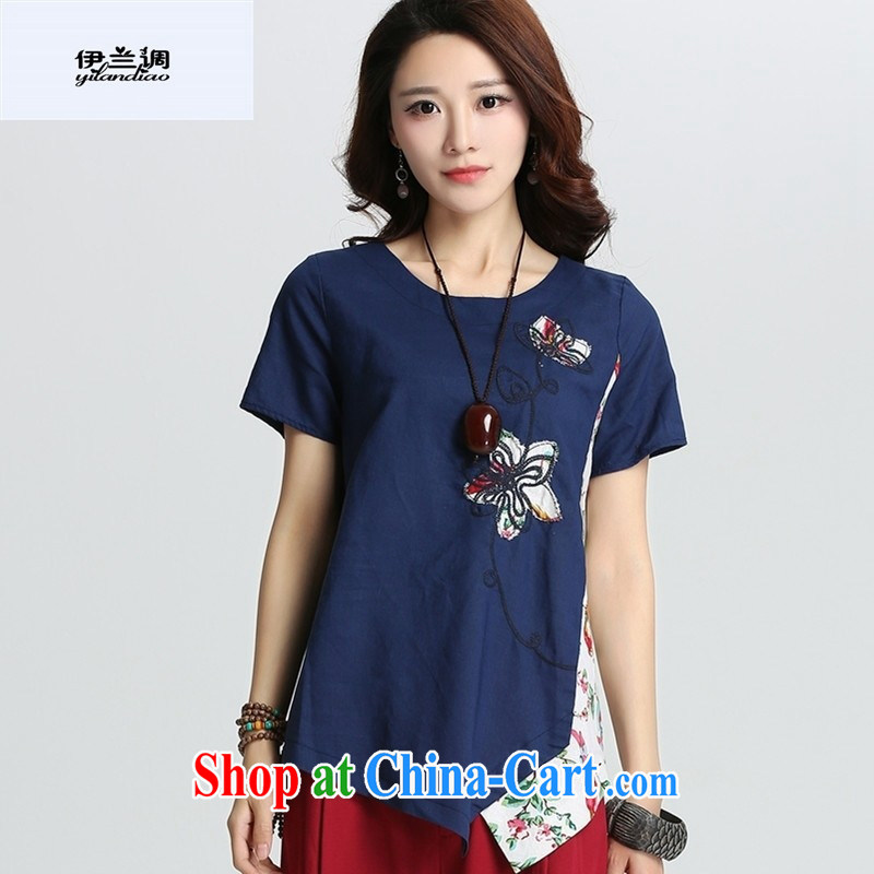 9 months female * female 2015 summer New T-shirt cool cultivating solid T-shirt direct and regular short-sleeved shirt T BLC 362 career Tsing XXL