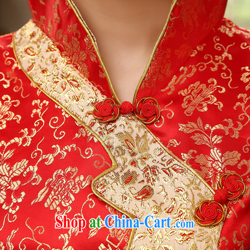Leigh impression wedding dresses 2015 new marriages served toast red fashion dresses 2008 Q XL impression, Leigh, shopping on the Internet