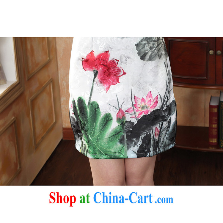 100 brigade Bailv female new digital positioning ethnic wind painting beauty antique dresses B F 1 1028 #0235, white lotus pictures, price, brand platters! Elections are good character, the national distribution, so why buy now enjoy more preferential! Health