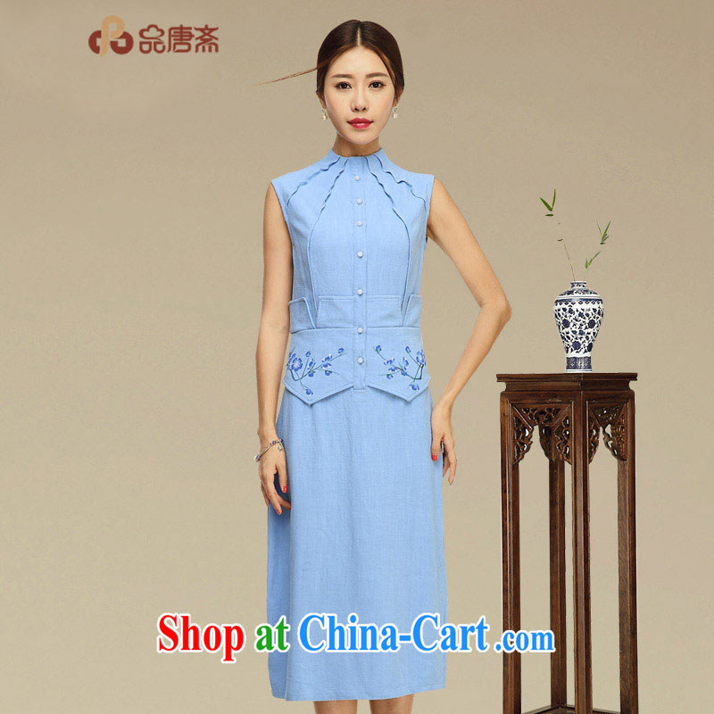 Mr Henry Tang, Id al-Fitr 2015 summer new retro arts and cultural units the cheongsam dress improved modern day Ms. cheongsam dress picture color XL