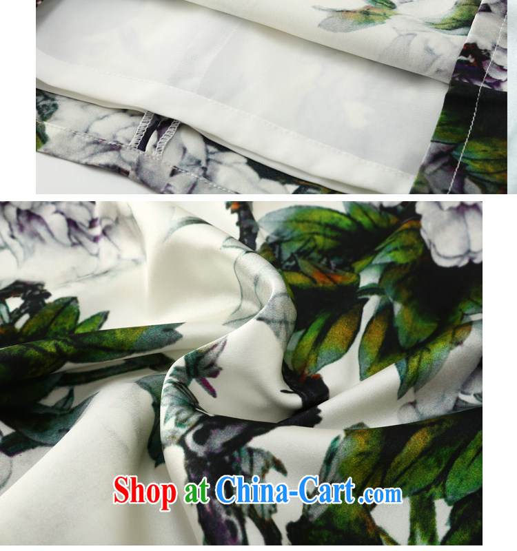 Joe is still name-yuan Silk Cheongsam dress Korea summer wind female Tang replace ZS 036 green XXL pictures, price, brand platters! Elections are good character, the national distribution, so why buy now enjoy more preferential! Health