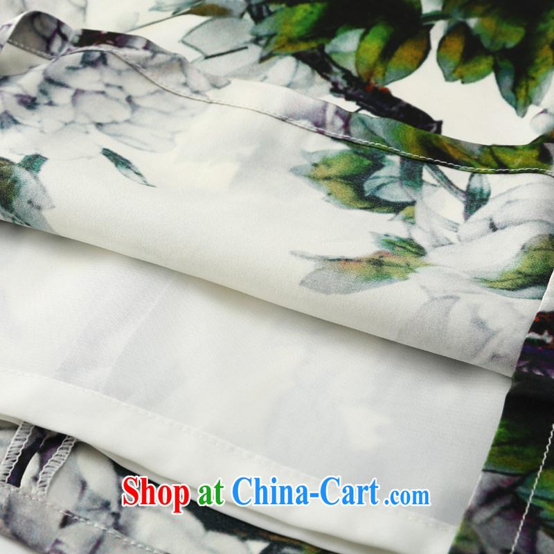 Joe is still name-yuan Silk Cheongsam dress Summer winds of female Chinese ZS 036 green XXL, CHOSHAN LADIES, shopping on the Internet