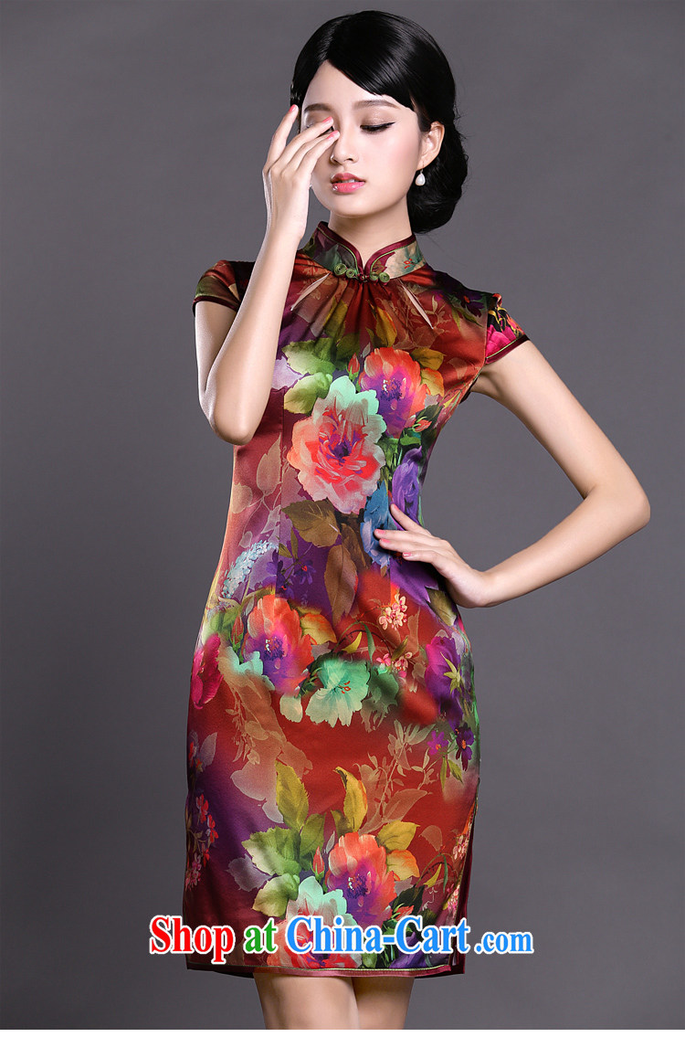 Joe is still name-yuan improved cheongsam dress silk Tang Women's clothes 039 ZS XXL suit pictures, price, brand platters! Elections are good character, the national distribution, so why buy now enjoy more preferential! Health