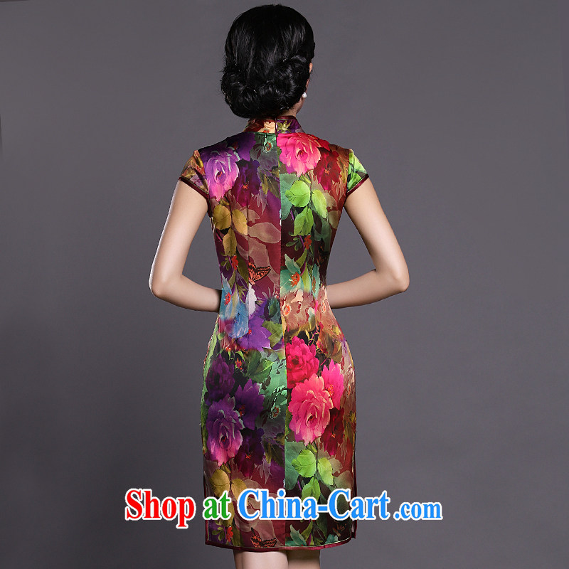 Joe is still name-yuan improved cheongsam dress silk Tang Women's clothes 039 ZS XXL suit, CHOSHAN LADIES, shopping on the Internet
