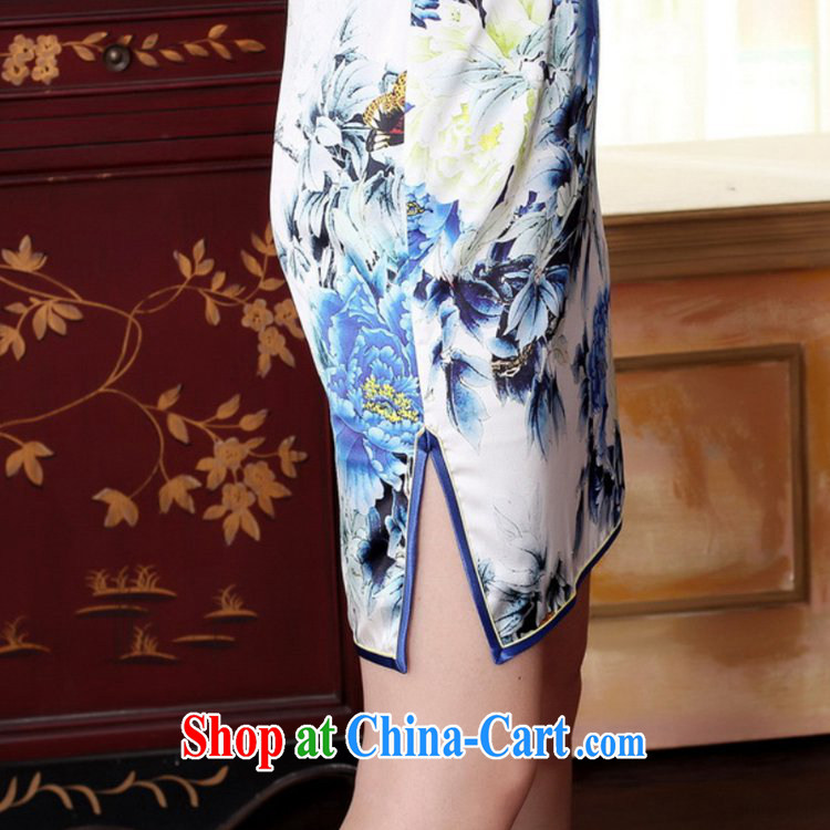 According to fuser stylish new ladies retro Ethnic Wind improved qipao, for a tight beauty short Chinese qipao dress LGD/Z #0025 figure 2 XL pictures, price, brand platters! Elections are good character, the national distribution, so why buy now enjoy more preferential! Health