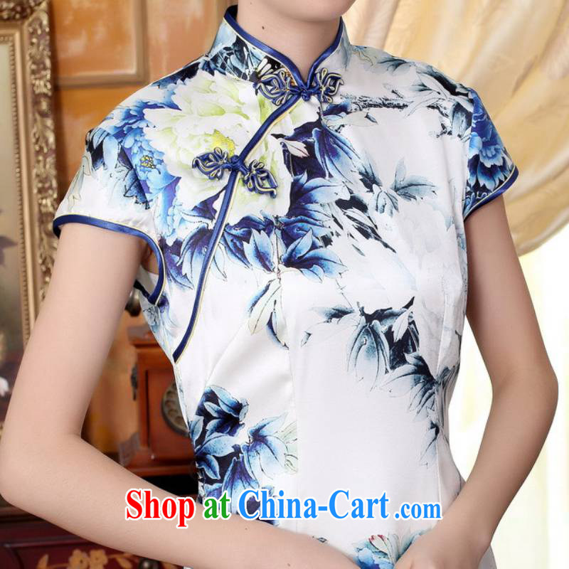 According to fuser stylish new ladies retro Ethnic Wind improved qipao, for a tight beauty short Chinese qipao dress LGD/Z 0025 #such as figure 2 XL, fuser, and shopping on the Internet