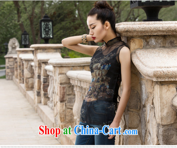 Wind Blowing summer 2015 new female Chinese style improved the root by a sleeveless XXL pictures, price, brand platters! Elections are good character, the national distribution, so why buy now enjoy more preferential! Health
