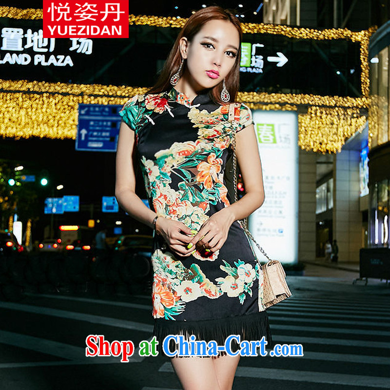 Yue Chi Dan 2015 retro China wind emulation, stamp duty beauty package and class, dresses, dress suits L