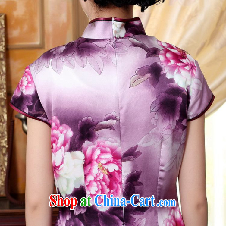 According to fuser summer stylish new ladies retro ethnic wind Tang with the collar is tight poster beauty short-sleeved Chinese cheongsam dress LGD/Z #0023聽figure 2 XL pictures, price, brand platters! Elections are good character, the national distribution, so why buy now enjoy more preferential! Health