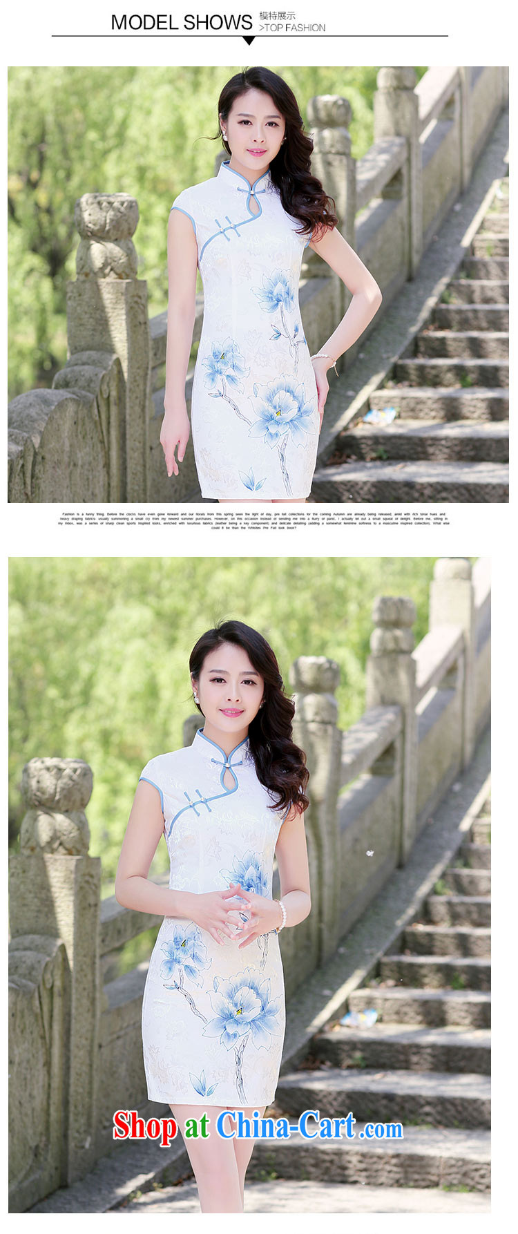 Kam Ming Yin Yue 7 summer 2015 new minimalist retro beauty graphics thin cheongsam dress light purple XL pictures, price, brand platters! Elections are good character, the national distribution, so why buy now enjoy more preferential! Health