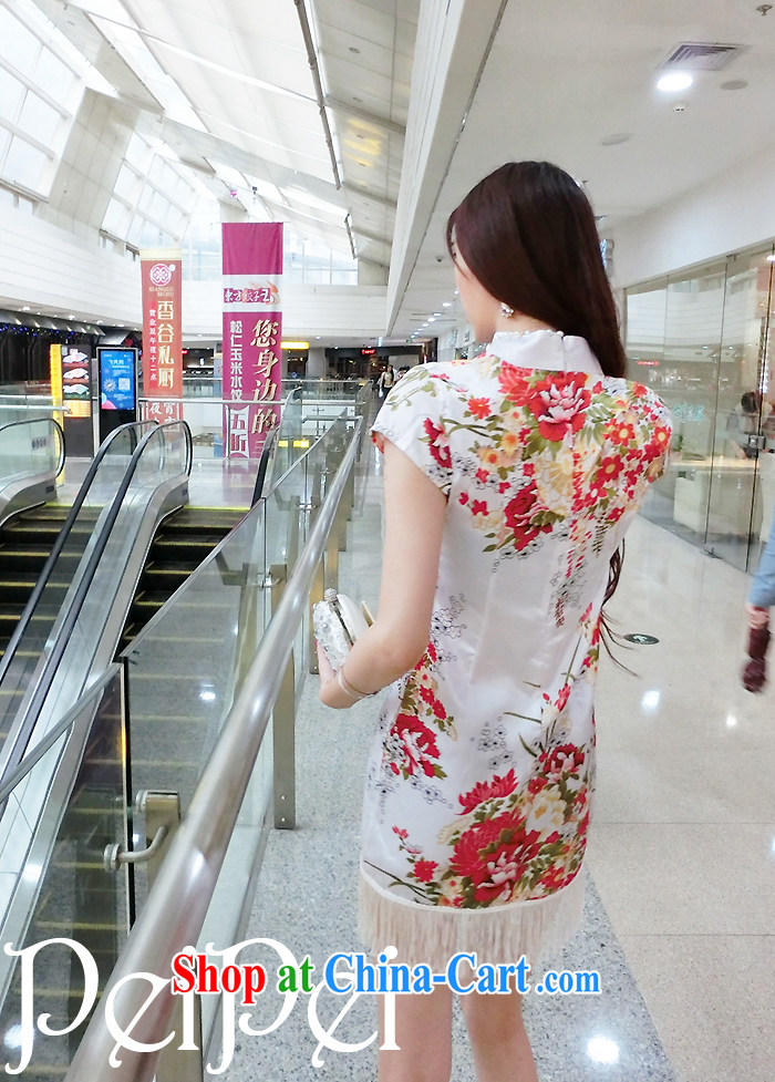 Diane sprawl of new, classic and elegant name yuan style beauty graphics thin painting stamp dresses flow, dresses are black, pictures, price, brand platters! Elections are good character, the national distribution, so why buy now enjoy more preferential! Health